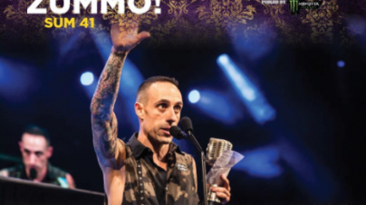 Sum 41 Drummer Frank Zummo, Takes Home Best Drummer Award At The 2017 APMAs